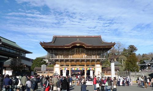 成田山新勝寺へ参拝